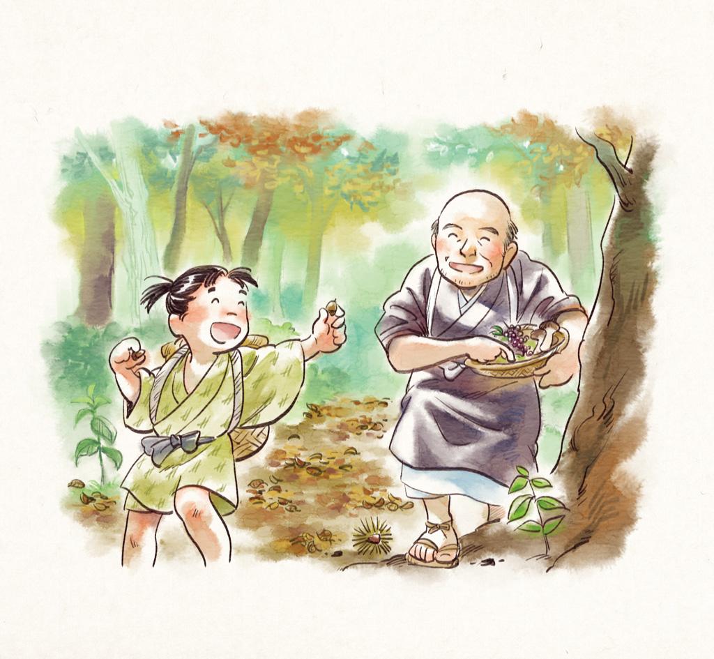 歳の差は、なんと50歳! でも遊ぶ時は、心が一つになるのです 〜『方丈記』に見つけた小さい秋の画像2