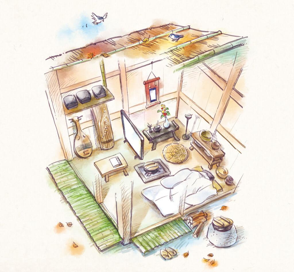 『方丈記』に記された、理想的な住まい 〜鴨長明は、移動式「方丈庵」を発明したの画像4