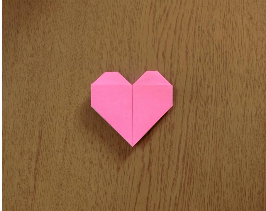 折り紙で遊ぼう!印刷OK!簡単でかわいいハートの作り方を写真で解説の画像17
