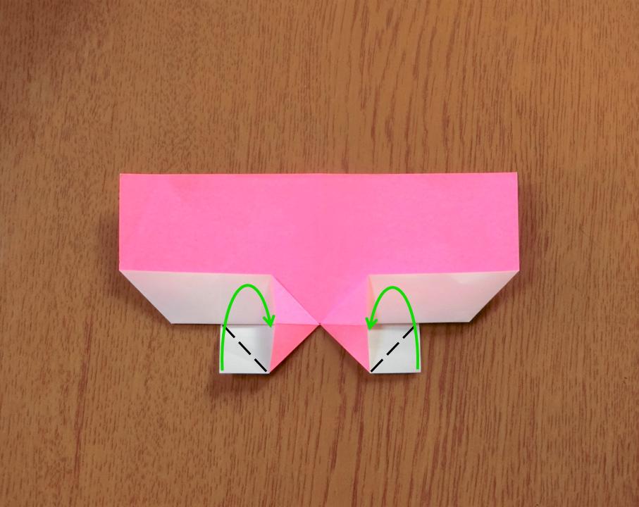 折り紙で遊ぼう!印刷OK!簡単でかわいいハートの作り方を写真で解説の画像10