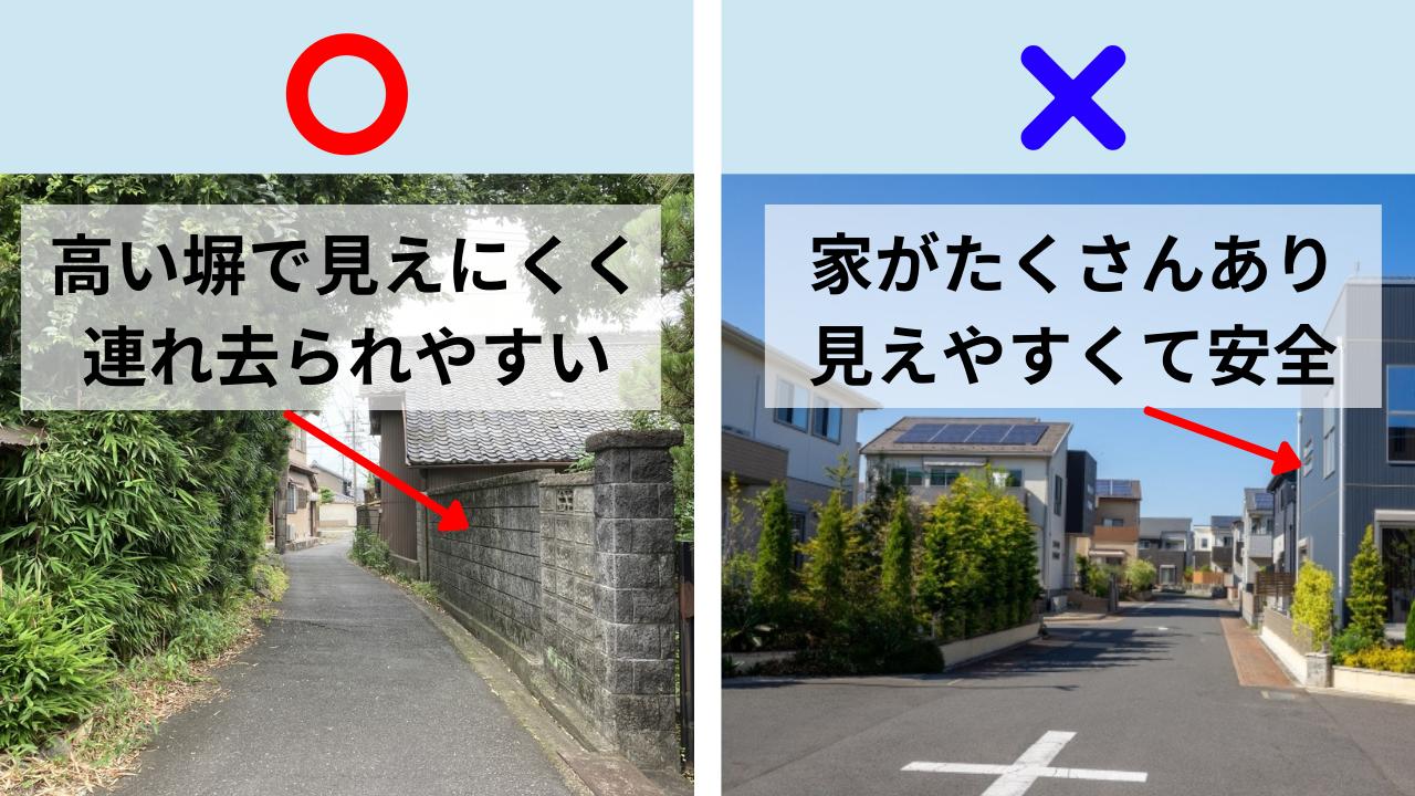 人が多いと誘拐されないは間違い!専門家が語る本当に危ない通学路の共通点の画像10