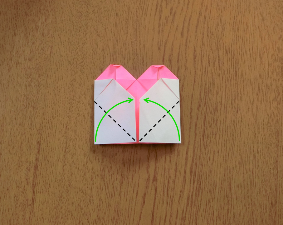 折り紙で遊ぼう!印刷OK!簡単でかわいいハートの作り方を写真で解説の画像15