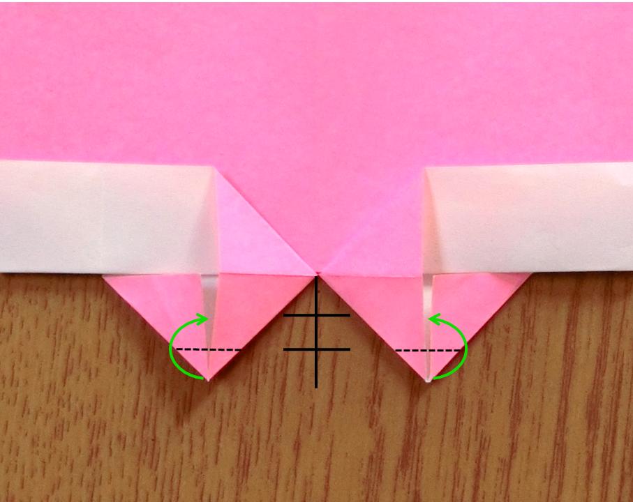 折り紙で遊ぼう!印刷OK!簡単でかわいいハートの作り方を写真で解説の画像12