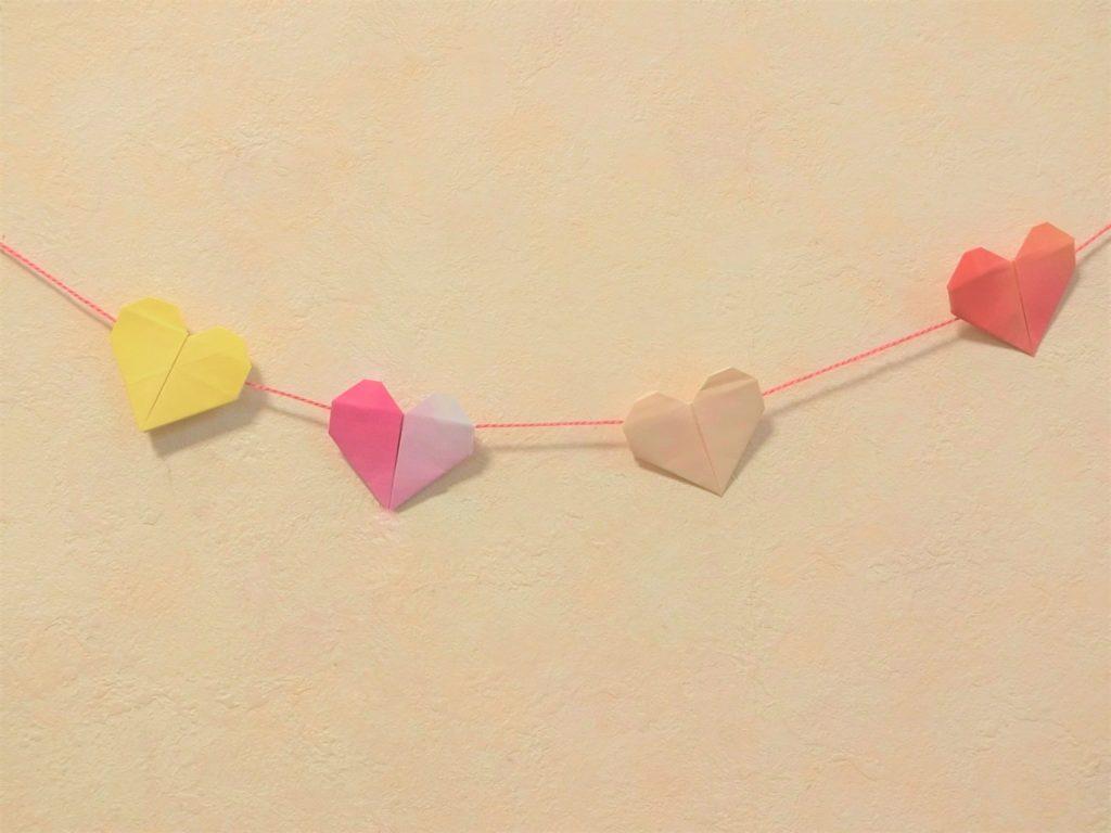 折り紙で遊ぼう!印刷OK!簡単でかわいいハートの作り方を写真で解説の画像27