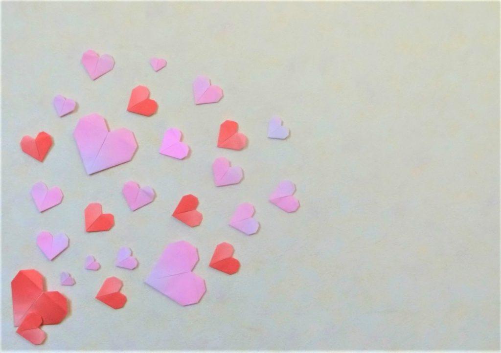 折り紙で遊ぼう!印刷OK!簡単でかわいいハートの作り方を写真で解説の画像28