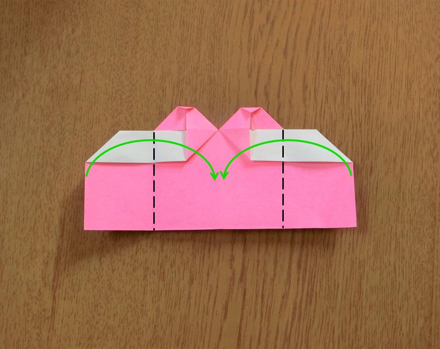 折り紙で遊ぼう!印刷OK!簡単でかわいいハートの作り方を写真で解説の画像13